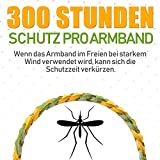 AYOUYA Mückenschutz Armband, 12 Stück Wiederverwendbar Insektenschutz-Armband Natürlich Öl Mückenschutz Anti Moskito Armband für Outdoor Indoor Kinder Erwachsene - 4