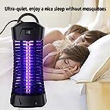 Lukasa UV Insektenvernichter, Elektrische Mückenfalle Moskito Killer Insektenfalle Mückenfalle für 30m² Innen Aussen - 2