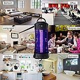 Lukasa UV Insektenvernichter, Elektrische Mückenfalle Moskito Killer Insektenfalle Mückenfalle für 30m² Innen Aussen - 3