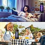 Insektenvernichter, Elektrischer 6W LED UV Fluginsektenvernichter Mückenfalle Moskito Killer Mückenlampe gegen Mücken, Fliegen, Bienenfür 35m² Innen Schlafzimmer und Gärten - 7
